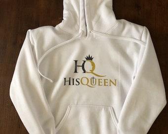 His Queen Hooded Sweatshirt
