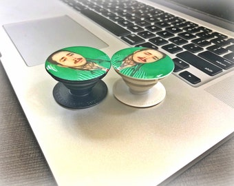 Post Malone pop socket, Post Malone gift , Post Malone fan present, Pop up stand with Post Malone image