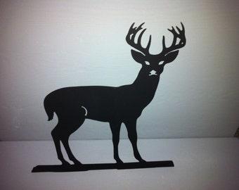 Buck Metal Mailbox Topper  Metal Deer Mailbox Topper