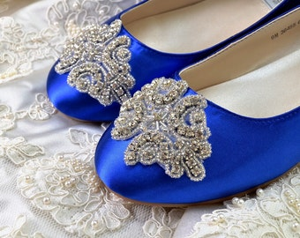 Women's Wedding Shoes -Womens Flats, Wedding Shoes Accessories Womens Crystal Shoes Women's Bridal Shoes, Women's Wedding Shoes Bridal Shoes