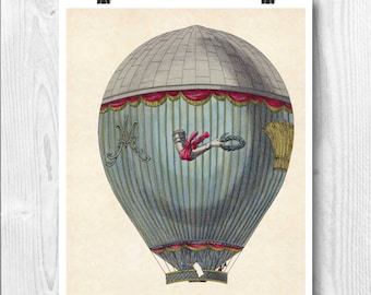 Hot air balloon, Aerostat machine map art, Hot air balloon decoration, globe balloon nursery, fly,decorative arts, educational poster