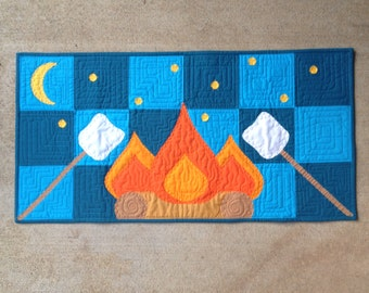 campfire nights :) quilt pattern