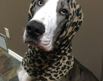 Fleece Dog Snood/Neck warmer