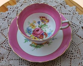 ROSINA Bone China Teacup and Saucer Set