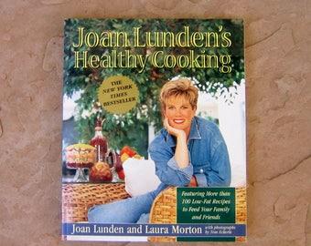 Joan Luden's Healthy Cooking Cookbook, Health Cook Book, 1996 Vintage Cookbook