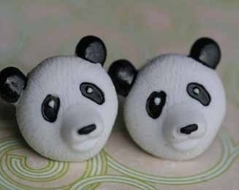 Panda Express Stud Post Earrings