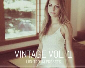 Vintage Vol. 1 Lightroom Presets pack //VINTAGE// Vintage Tones Lightroom Presets For Photographers