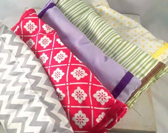 Lavender Eye Pillow - travel eye pillow - relaxation eye pillow - sleeping aid - headache relief - heat or cold pack - yoga eye pillow