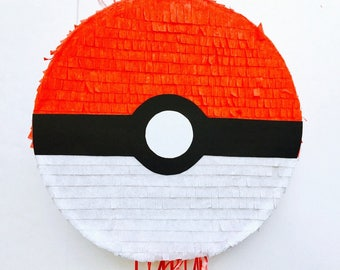 Birthday Celebration Pokeball Pinata (Pokemon). Birthday Celebration Piñata of Pokeball (Pokemon)