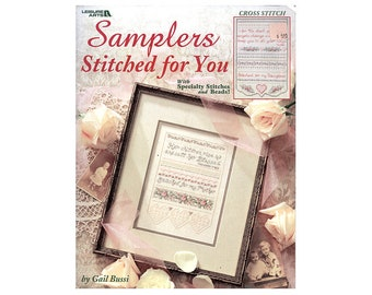 Samplers Stitched for You Cross Stitch Leaflet, Samplers Cross Stitch Pamphlet, Samplers Cross Stitch, Scripture Cross Stitch, Scriptures