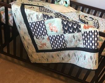 Baby Quilt Gift Set