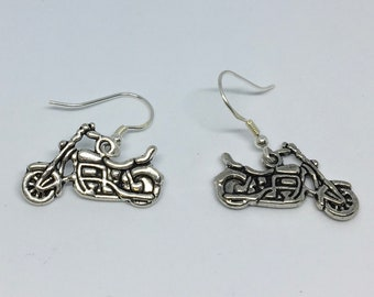 Motorbike Earrings