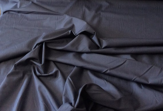 High quality cotton poplin dyed in Japan. blue no33