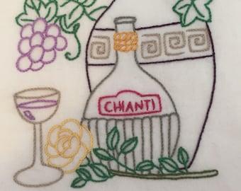 Wine country - chianti