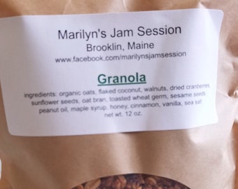 Marilyn's Jam Session Granola