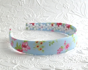 Girls Headband, Fabric Covered Headband, Plastic Headband, Big Girl Headband, Easter Headband, Kids Fashion Headband, Gift for Girls