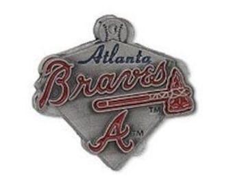 Atlanta Braves Triangle Charm