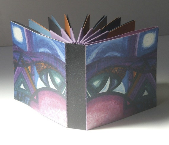 How To Make A Digital Book Cover : How to make hedi kyle s blizzard book folded origami fan