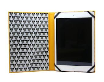 Coated canvas Mini ipad case