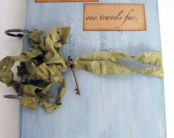 Custom Travel Journal Smashbook Scrapbook Album