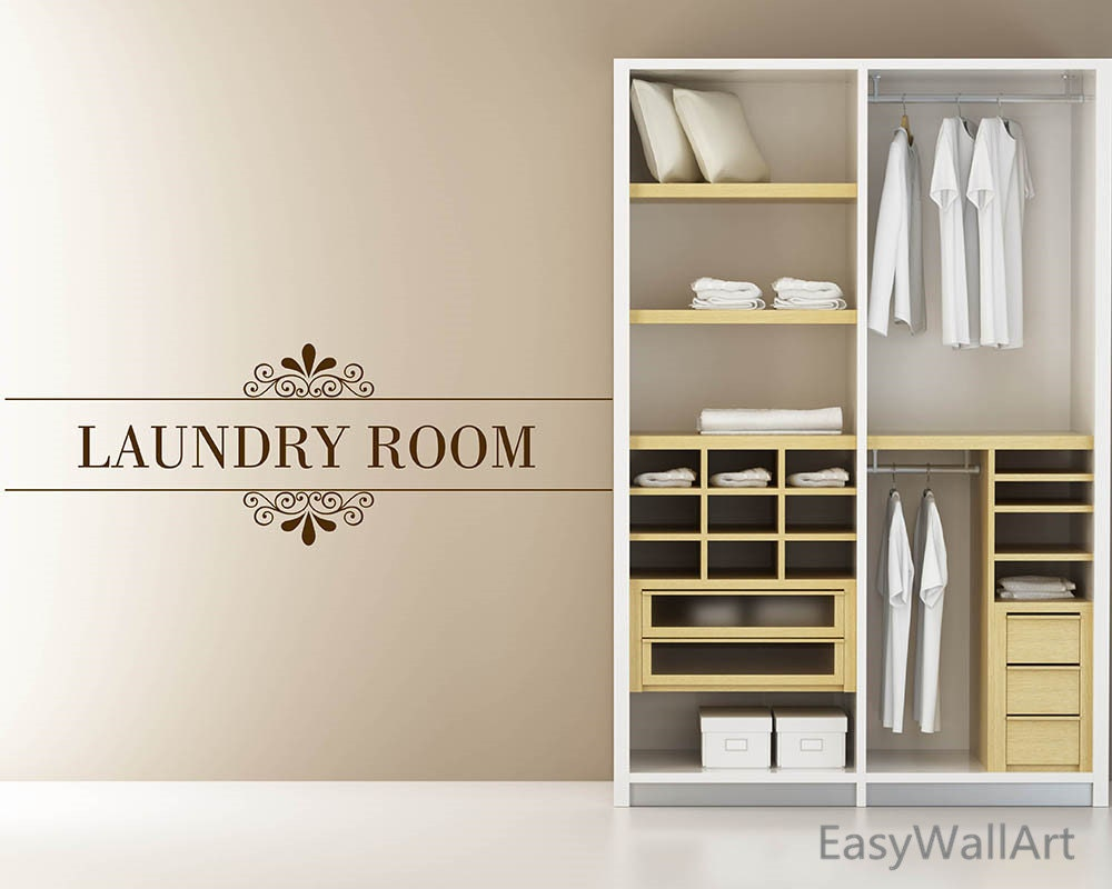 Laundry Decal Wall Decor Delectable Laundry Room Decor Laundry Room Wall Decal Laundry Room Design Decoration