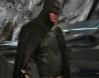 Batman Cape Full Circle Cloak (2 Panel/Center Back Seam)