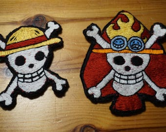 One Piece Embroidery patches