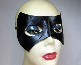 Black Canary Mask / Arrow Mask / Leather Mask / Laurel Lance / Black Canary / Arrow Cosplay / Black Canary Costume / Superhero Mask / Mask