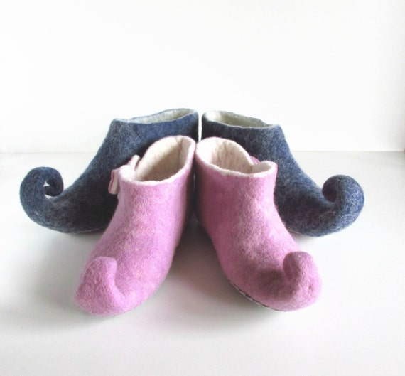 slippers slippers felt felted mens shoes elf slippers slippers slippers Felted felted women slippers gnome slippers wool qPC5pS