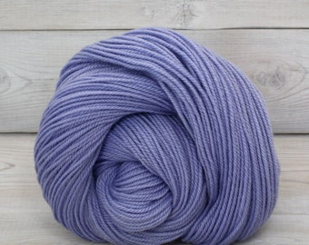 Zeta - Hand Dyed Polwarth Wool and Silk DK Sport Yarn - Colorway: Hydrangea