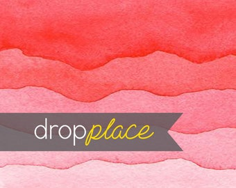 Printed Pink Waves Photography backdrop  Background Photo Booth Printed vinyl or Fabric (Multiple Sizes Available)