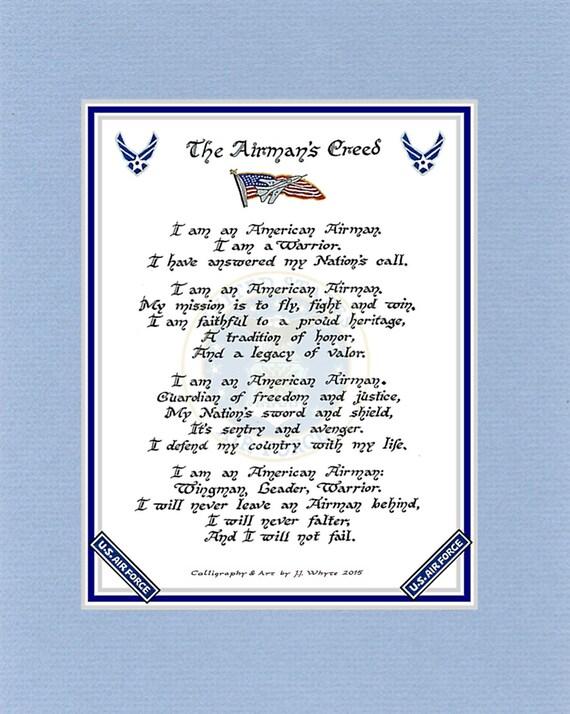 United states air force airmans creed altavistaventures Images