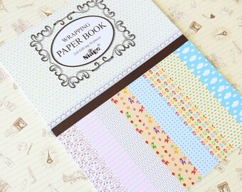 Ninge FANCY CARTOON Wrapping Paper Book - No 1
