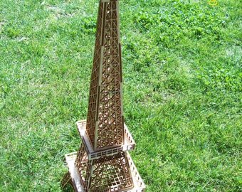 Laser Cut 3D Eiffel Tower Great For Wedding Table Center Pieces