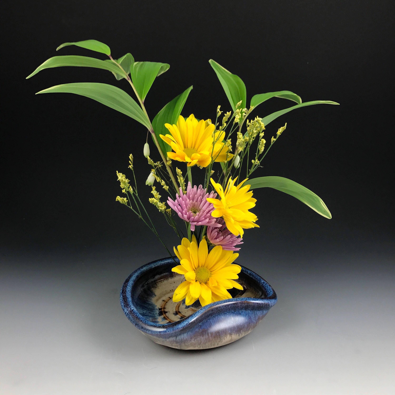 Ikebana vase flower tray flower dish flower bowl with zoom floridaeventfo Images