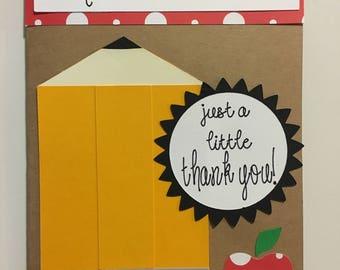 Teacher Thank You Card