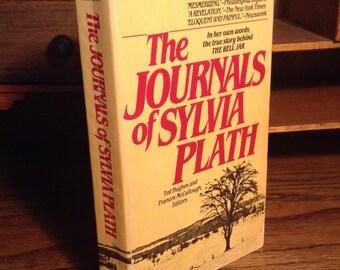 Les journaux de Sylvia Plath - Vintage broché avec des photographies - édité par Ted Hughes et Frances McCullough, revues d'un poète