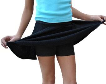 Girls Cartwheel Shorts, Playground Shorts, Modesty Shorts, Cotton Shorts