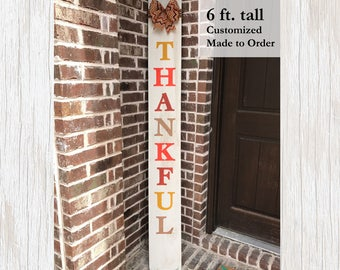 Thanksgiving Home Decor, Fall Decor, Thanksgiving Decor, Thanksgiving Sign, Barn Wood Decor, Outdoor Decor, Rustic Decor, Barn Wood Sign