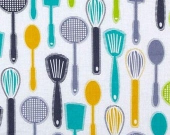 Patchwork kitchenware timeless treasures fabric