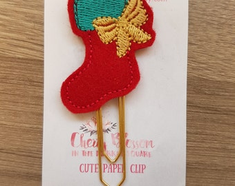 Christmas Stocking Paper Clip
