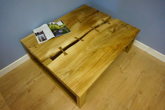 Large Elm Coffee Table