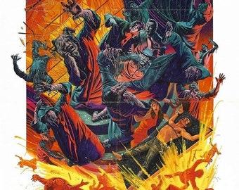 Spring Sales Event: THE DEVILS RAIN Movie Poster 1975 William Shatner