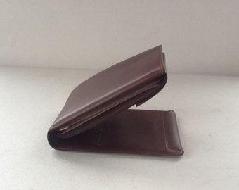 Vintage Buxton Leather Wallet / Genuine Brown Leather Wallet / Brown Wallet