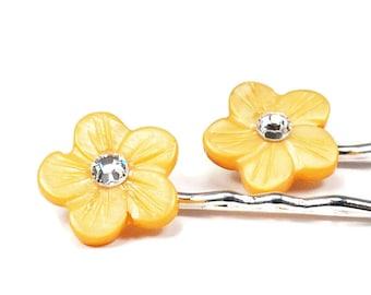 Handmade Flower Hair Jewelry Set