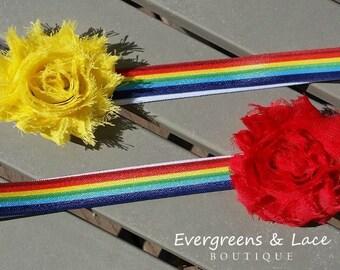 Rainbow Headband Duo