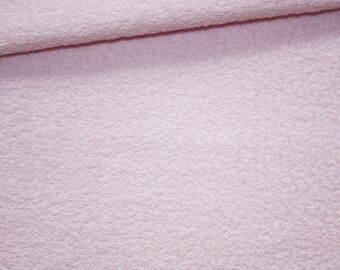 Pink Terry cloth pastel, 50 x 165 cm thick, high quality
