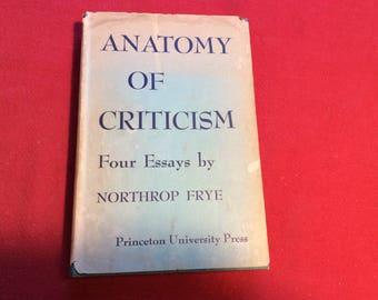 Anatomy of Criticism, 1957 Edition