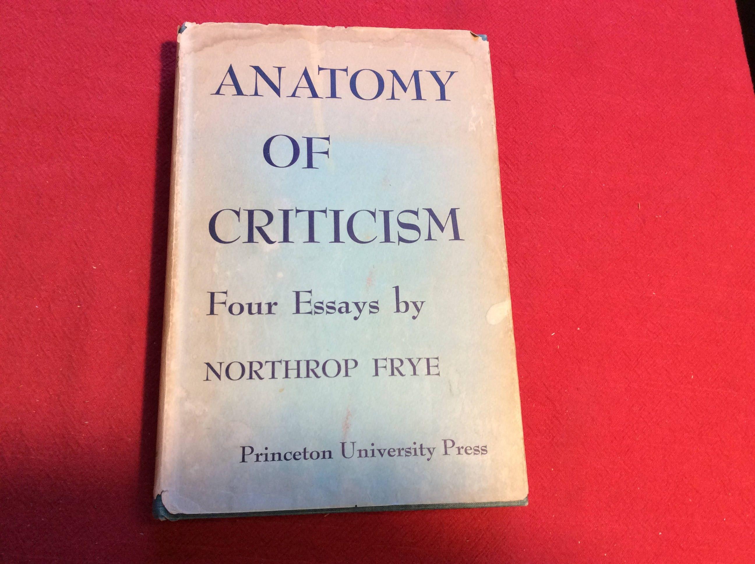 Anatomy of Criticism 1957 Edition