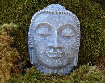 Buddha, Buddha Plaque, Buddha Wall Décor, Zen Buddha, Spirituality, Yoga, Spiritual Décor, Zen Garden Décor, Mother's Day Gardening Gift